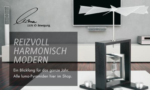 Banner luma Licht & Bewegung.