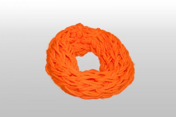Loop-Schal Neon-Orange