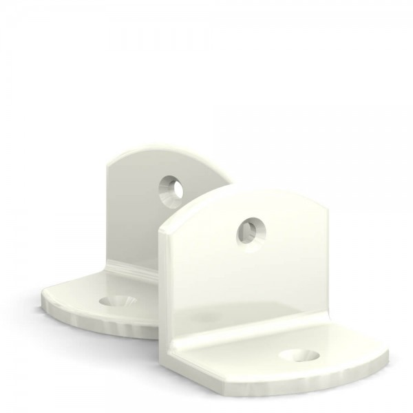 BUNT & PFIFFIG Doppelpack Winkel Weiß