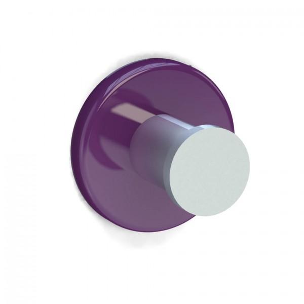 Bunt & Pfiffig Universalhaken aus Aluminium pulverbeschichtet RAL 4008 Signalviolett