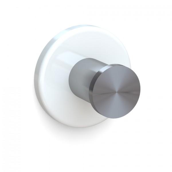 Bunt & Pfiffig Universalhaken aus Edelstahl pulverbeschichtet RAL 9010 Weiß