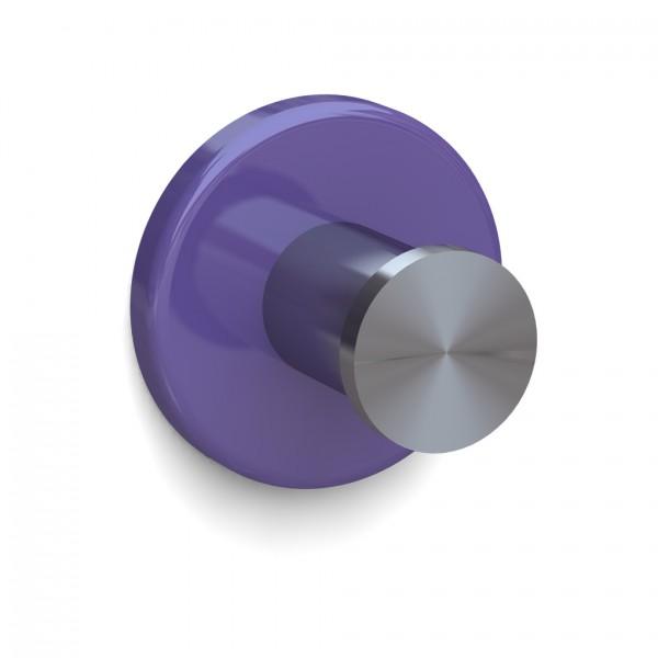 Bunt & Pfiffig Universalhaken aus Edelstahl pulverbeschichtet RAL 4005 Flieder