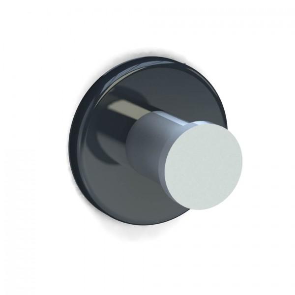 Bunt & Pfiffig Universalhaken aus Aluminium pulverbeschichtet RAL 7043 Verkehrsgrau
