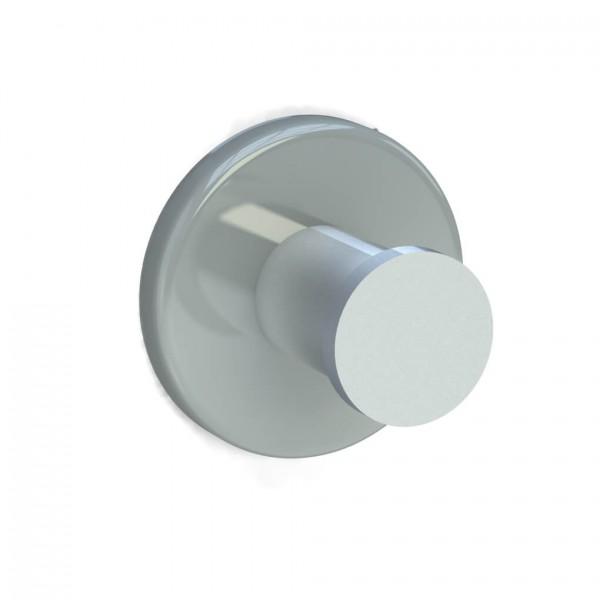 Bunt & Pfiffig Universalhaken aus Aluminium pulverbeschichtet RAL 7038 Achatgrau