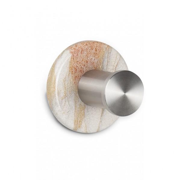 Kleiderhaken Beiger Marmor