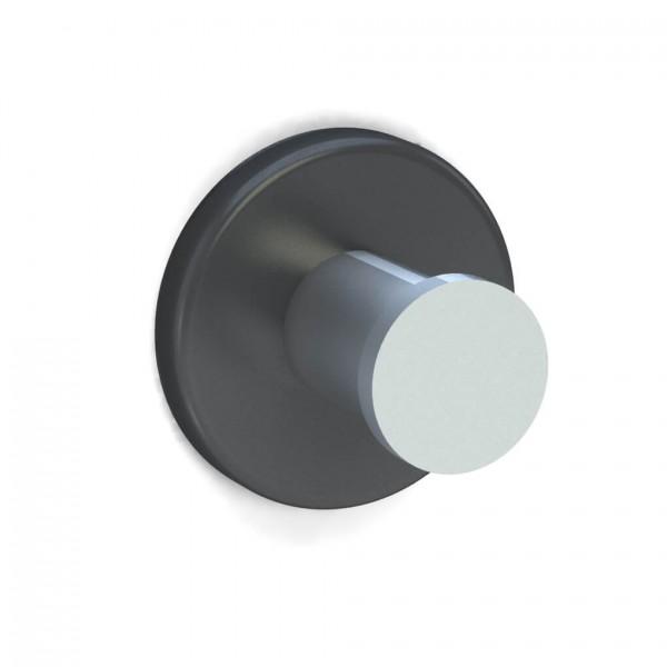 Bunt & Pfiffig Universalhaken aus Aluminium pulverbeschichtet RAL DB703 Eisenglimmer-Grau