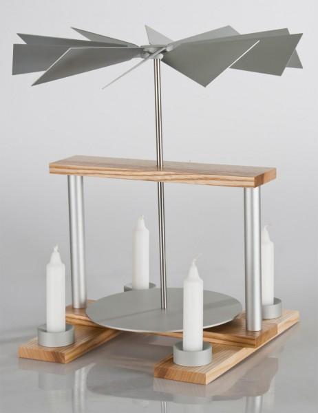 "luma-Pyramide ""duo"" ESCHE/Aluminium"