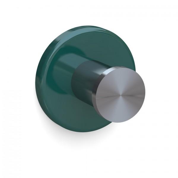 Bunt & Pfiffig Universalhaken aus Edelstahl pulverbeschichtet RAL 6026 Opalgrün
