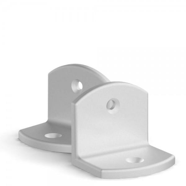 BUNT & PFIFFIG Doppelpack Winkel Aluminium EV1