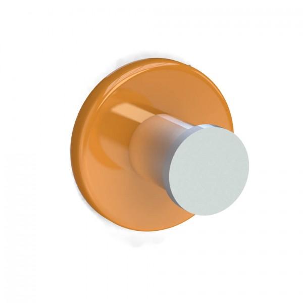 Bunt & Pfiffig Universalhaken aus Aluminium pulverbeschichtet RAL 1028 Melonengelb