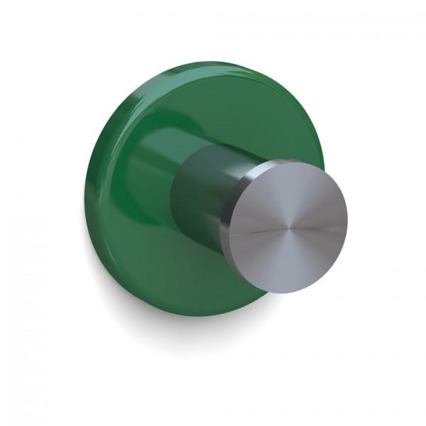 Bunt & Pfiffig Universalhaken aus Edelstahl pulverbeschichtet RAL 6029 Minzgrün