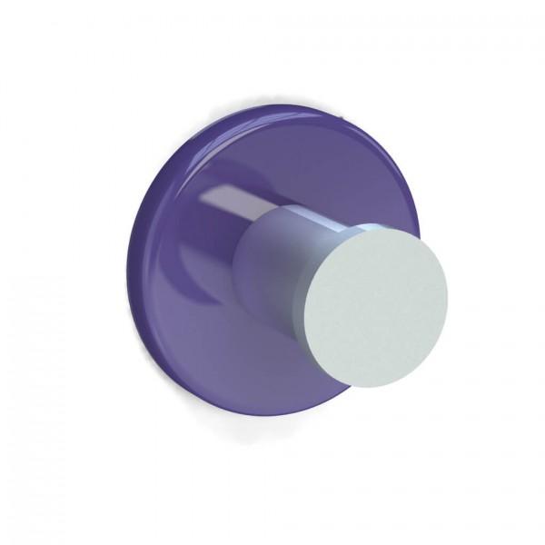 Bunt & Pfiffig Universalhaken aus Aluminium pulverbeschichtet RAL 4005 Blaulila