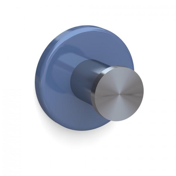 Bunt & Pfiffig Universalhaken aus Edelstahl pulverbeschichtet RAL 5014 Taubenblau