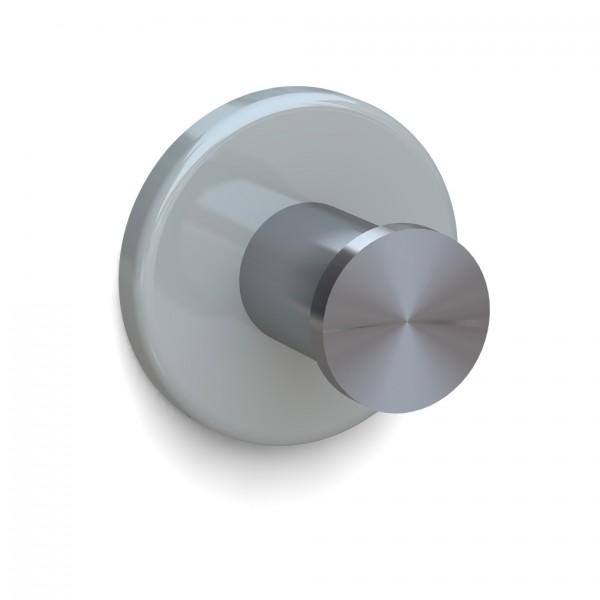 Bunt & Pfiffig Universalhaken aus Edelstahl pulverbeschichtet RAL 7038 Achatgrau