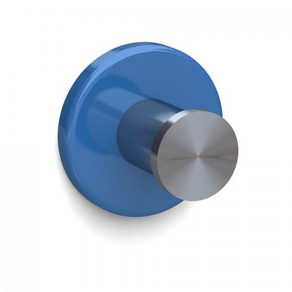 Bunt & Pfiffig Universalhaken aus Edelstahl pulverbeschichtet RAL 5012 Lichtblau