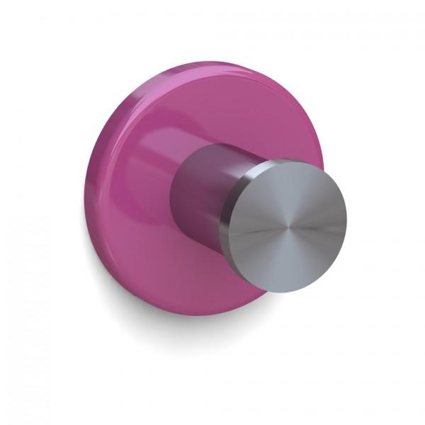 Bunt & Pfiffig Universalhaken aus Edelstahl pulverbeschichtet RAL 4003 Pink