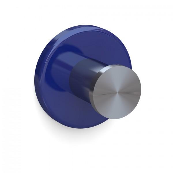Bunt & Pfiffig Universalhaken aus Edelstahl pulverbeschichtet RAL 5002 Ultramarinblau