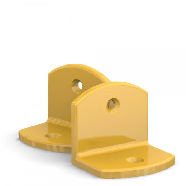 BUNT & PFIFFIG Doppelpack Winkel Gelb