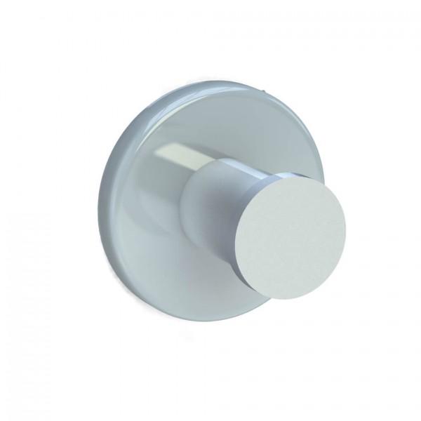 Bunt & Pfiffig Universalhaken aus Aluminium pulverbeschichtet RAL 7035 Lichtgrau