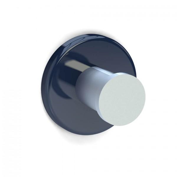 Bunt & Pfiffig Universalhaken aus Aluminium pulverbeschichtet RAL 5011 Stahlblau