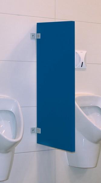 BUNT & PFIFFIG Schamwand Trennwand 28mm Blau RAL 5005
