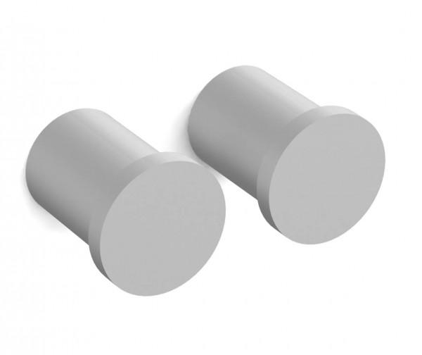 Kleiderhaken ADRIA Aluminium Doppelpack