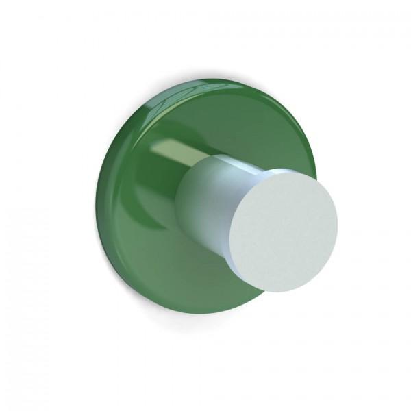 Bunt & Pfiffig Universalhaken aus Aluminium pulverbeschichtet RAL 6017 Maigrün