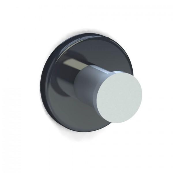 Bunt & Pfiffig Universalhaken aus Aluminium pulverbeschichtet RAL 7024 Graphitgrau