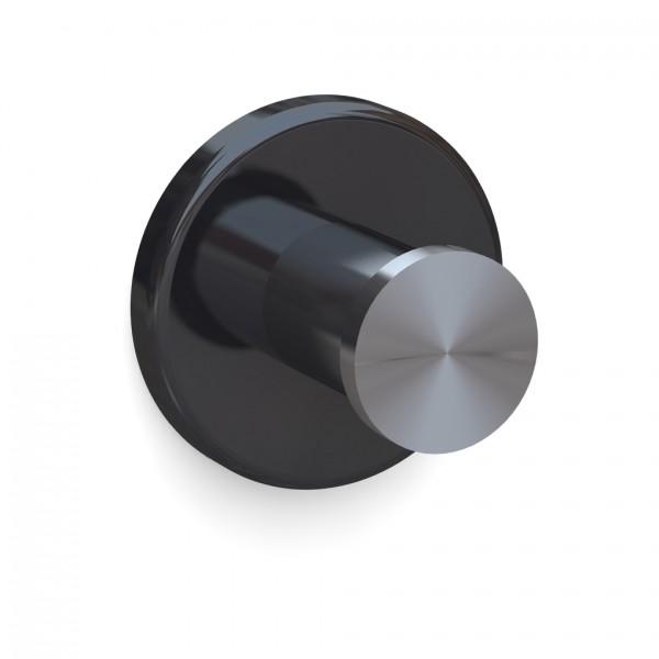 Bunt & Pfiffig Universalhaken aus Edelstahl pulverbeschichtet RAL 9005 Schwarz