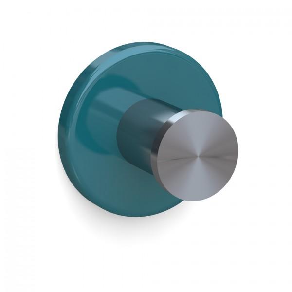 Bunt & Pfiffig Universalhaken aus Edelstahl pulverbeschichtet RAL 5021 Türkis