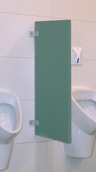 BUNT & PFIFFIG Schamwand Trennwand 28mm Grün Stumpfgrün