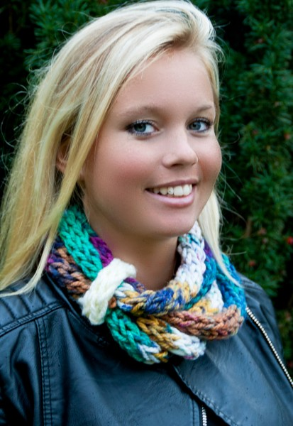 Loop-Schal mehrfarbig